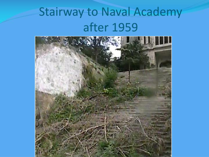 Stairway to Naval Academy