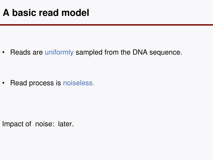 A basic read model