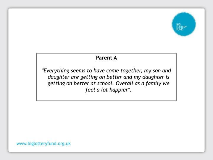 Parent A