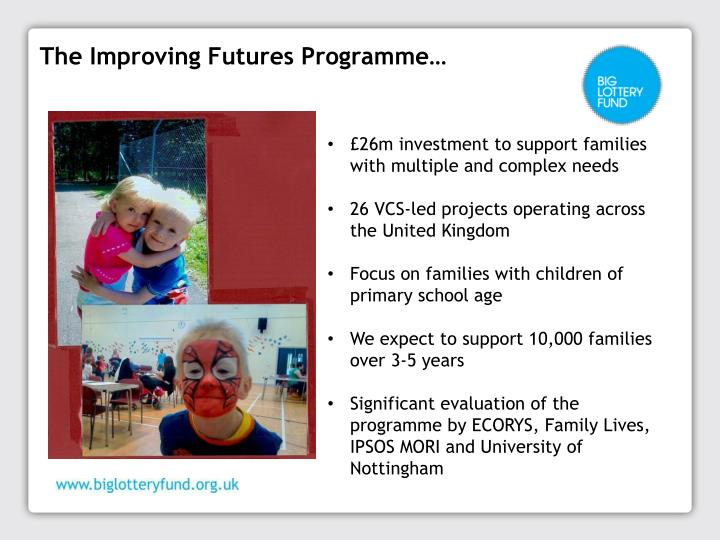 The Improving Futures Programme…