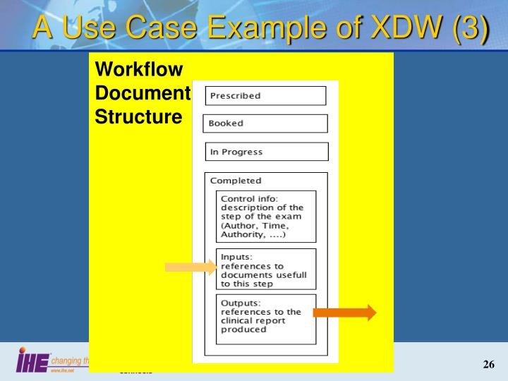 A Use Case Example of