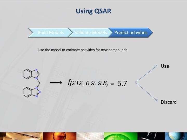 Using QSAR