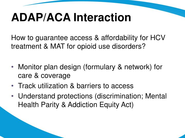 ADAP/ACA Interaction