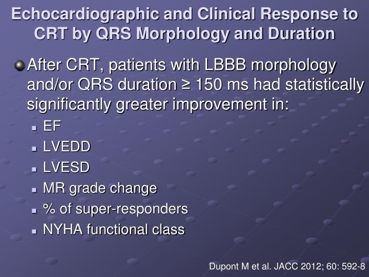 Echocardiographic