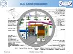 clic tunnel cross section