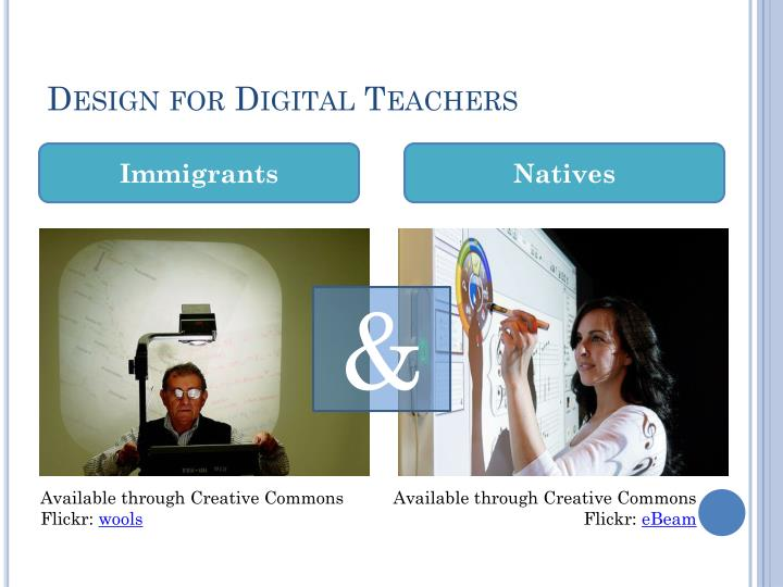 Design for Digital Teachers
