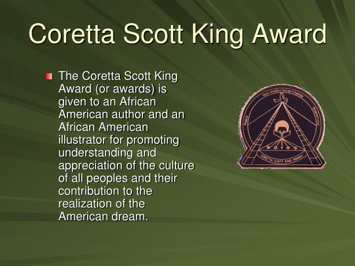 Coretta Scott King Award