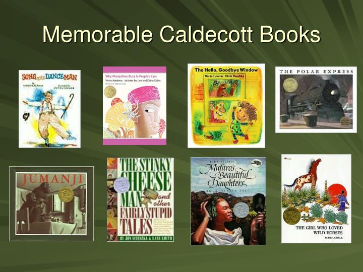 Memorable Caldecott Books