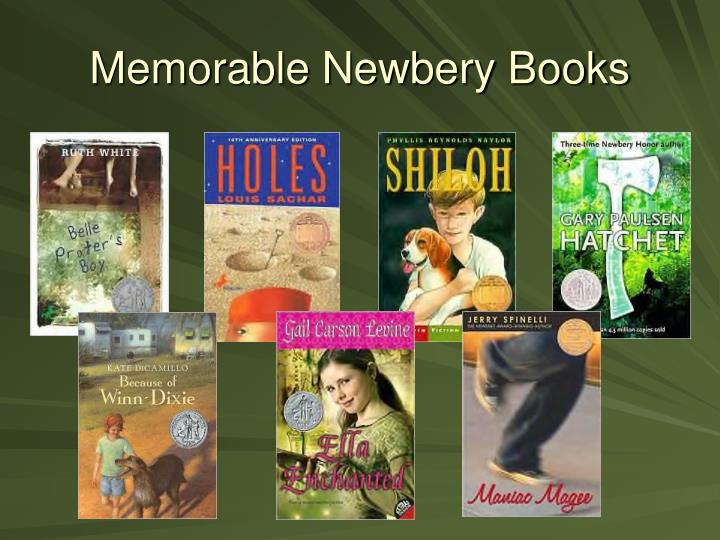 Memorable Newbery Books