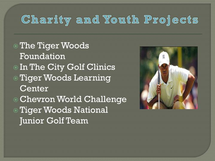Charity and Youth Projects