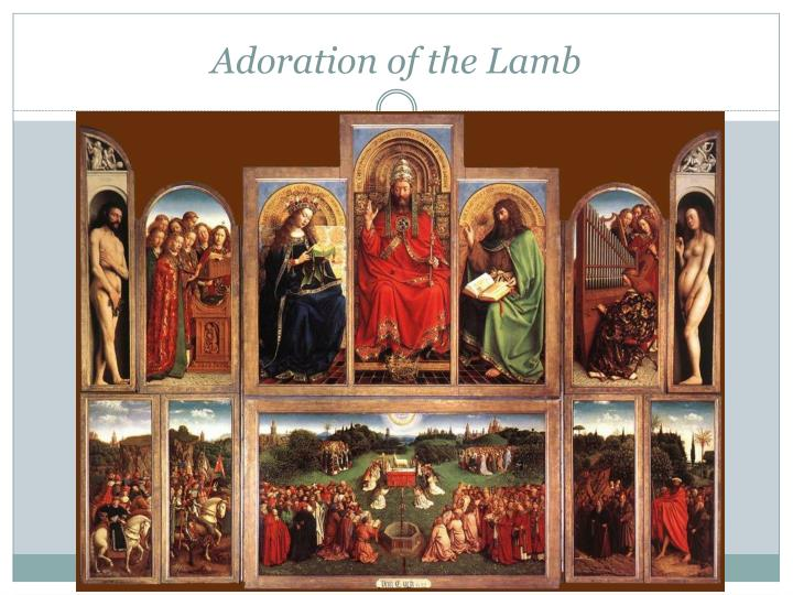 Adoration of the Lamb