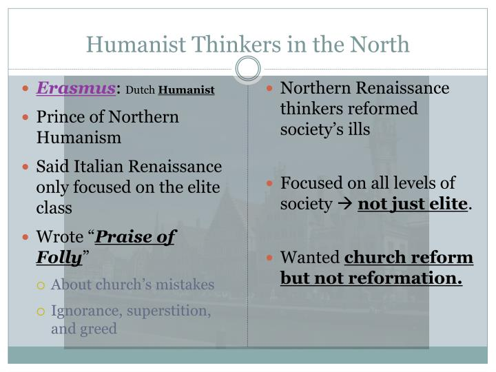 Humanist Thinkers in the