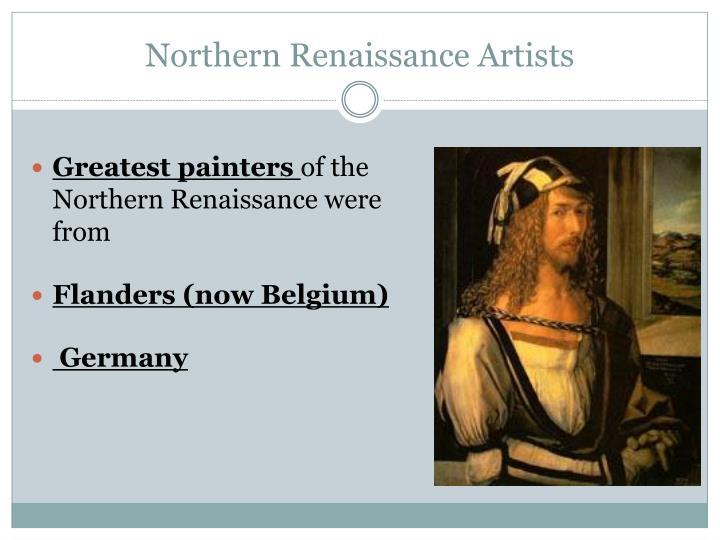Northern Renaissance Artists