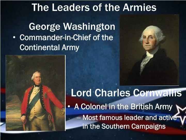 The Leaders of the Armies