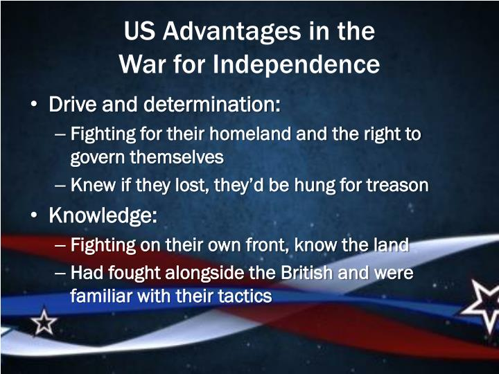 US Advantages in the