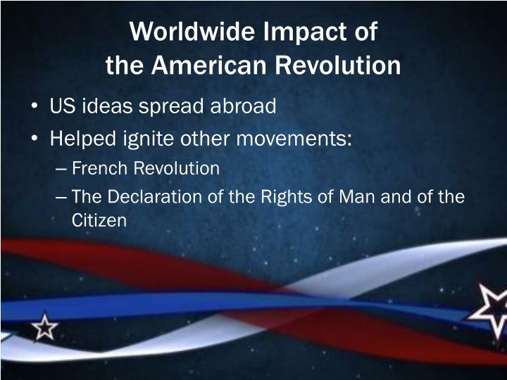 Worldwide Impact of