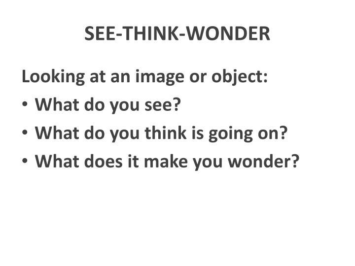 SEE-THINK-WONDER