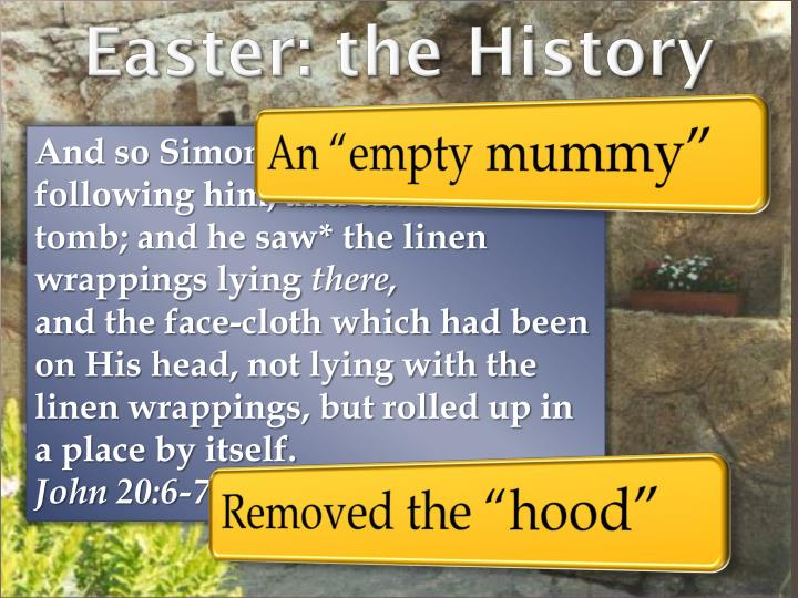 Easter: the History