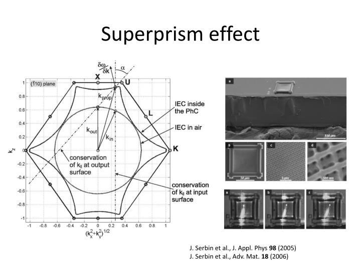 Superprism