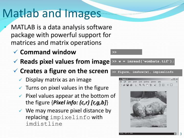 Matlab and images