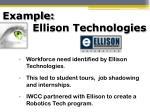 example ellison technologies