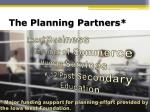 the planning partners