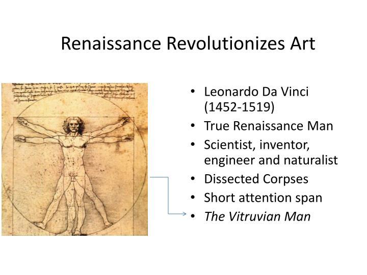 Renaissance Revolutionizes Art
