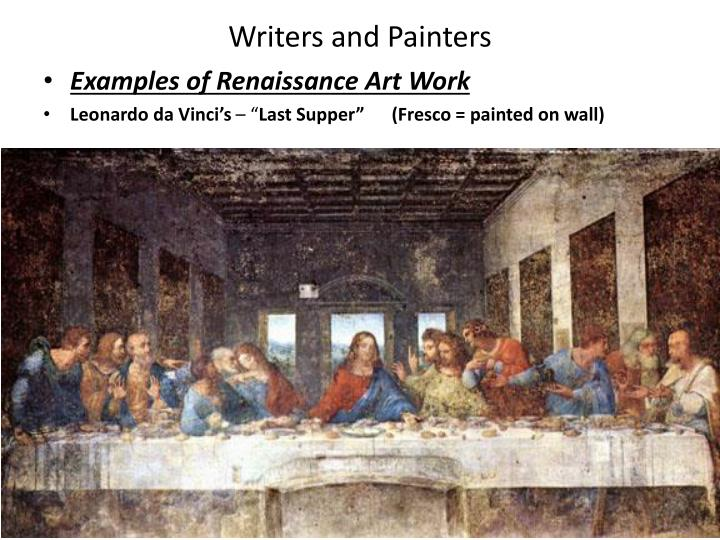 Writers and Painters
