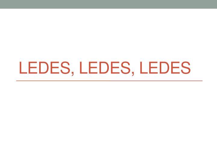 Ledes