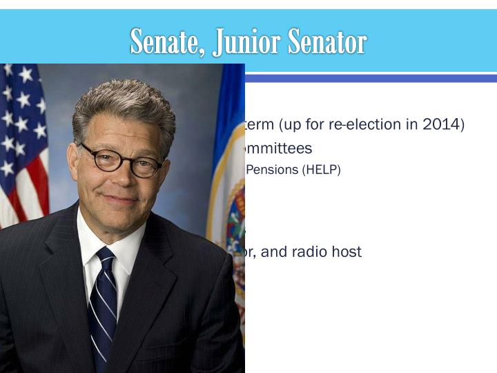 Senate, Junior Senator