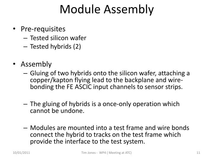 Module Assembly
