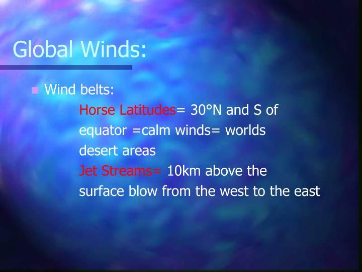 Global Winds: