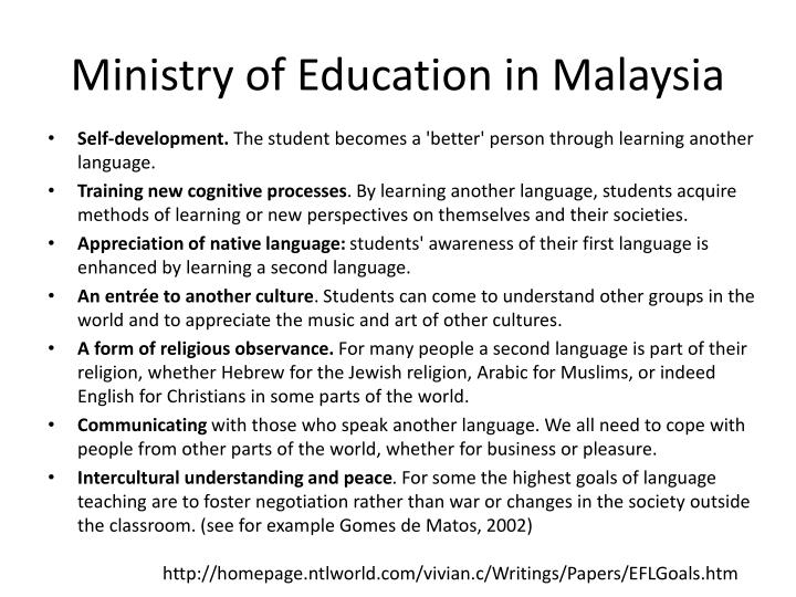 Ministry of Education in Malaysia