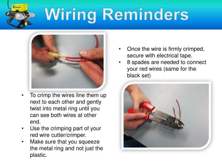 Wiring Reminders