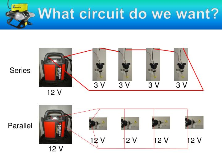 What circuit do we want?