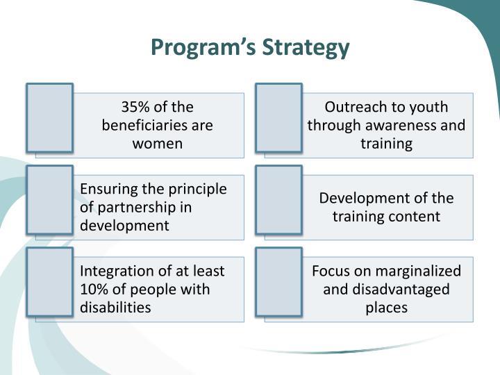 Program's Strategy
