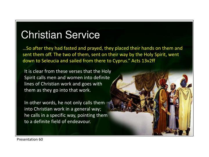 Christian Service