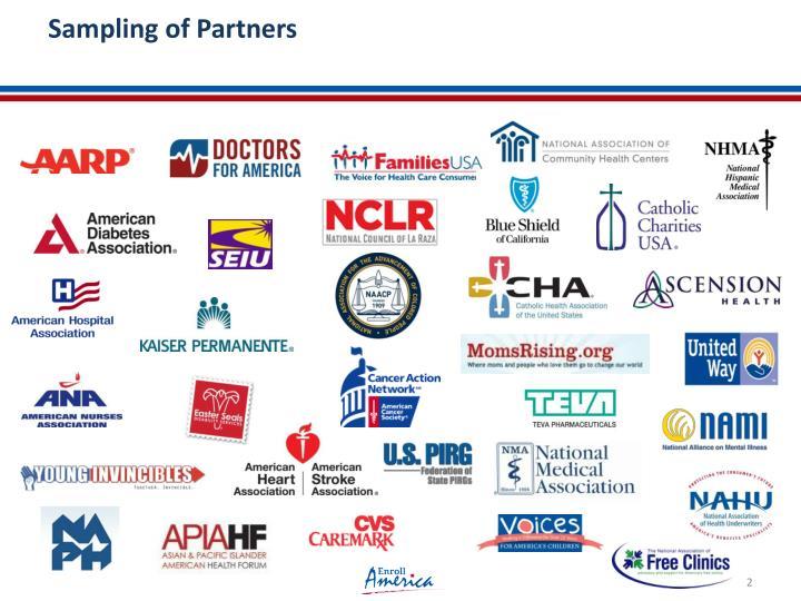 Sampling of Partners