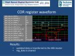 cor register waveform1