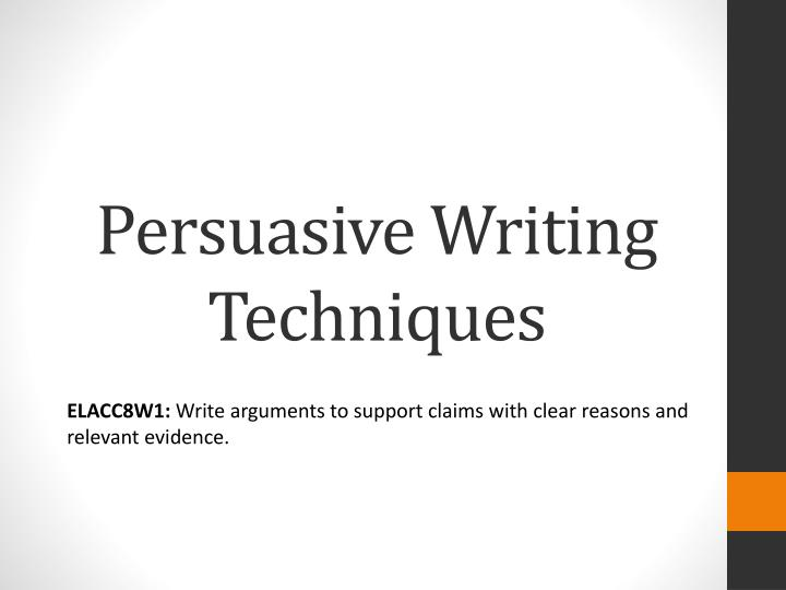 pee - an essay-writing technique Having bad times with writing your rhetorical analysis essay this article with 10 best tips is good for you to get to the main point and succeed it is a quite reliable writing technique, you can use it to satisfy the application commission/jury all paragraphs should be approximately equal.