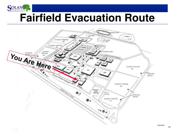 Fairfield Evacuation