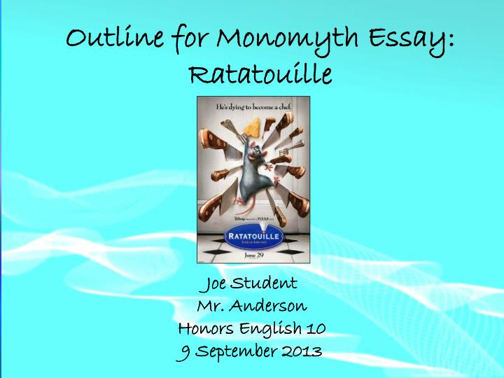 monomyth essay Read this essay on life of pi monomyth come browse our large digital warehouse of free sample essays get the knowledge you need in order to pass your classes and more.