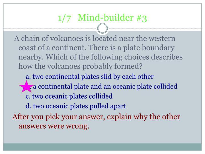 1/7   Mind-builder #3