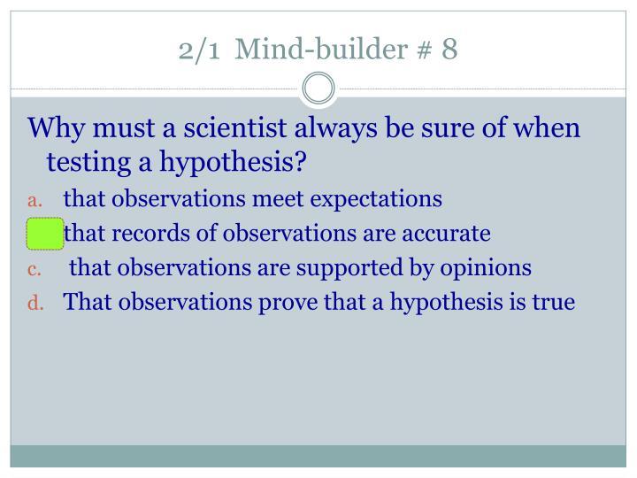 2/1  Mind-builder # 8