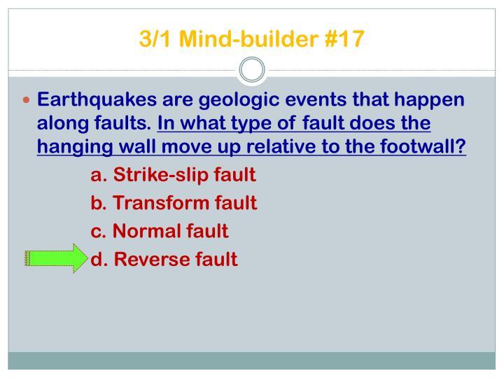 3/1 Mind-builder #17