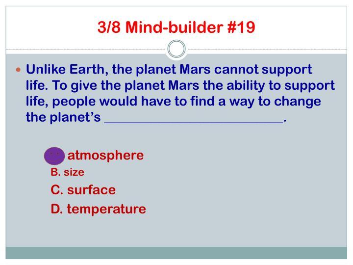 3/8 Mind-builder #19