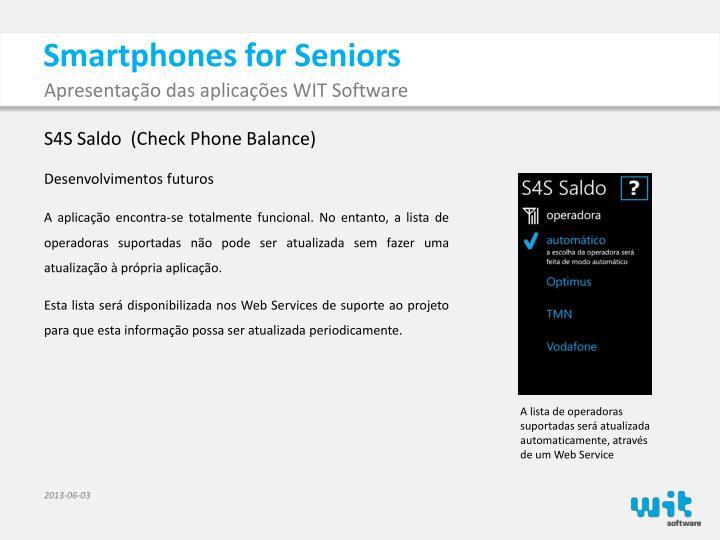 Smartphones for Seniors