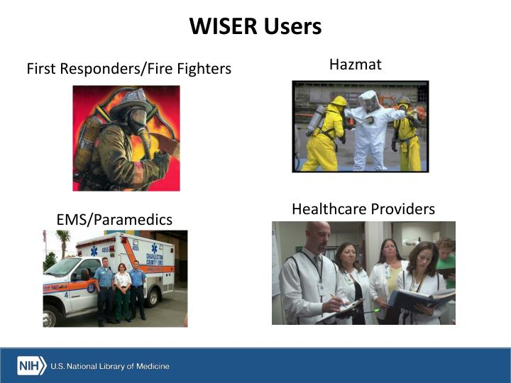 WISER Users