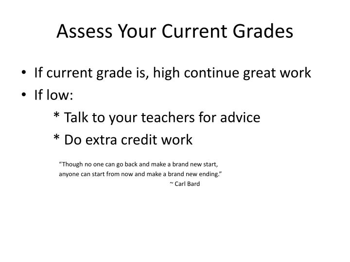 Assess Your