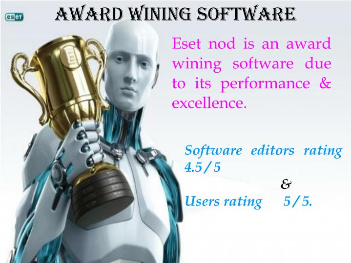 Award Wining Software